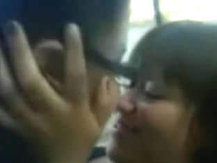 Nerdy fat mexican girl gets fucked in public