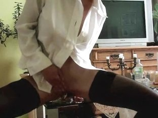 Romantic session with her marital-device