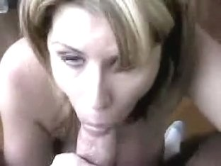 POV Orall-Service With Throat Ejaculation