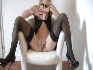 Hot girl Striptease in fron of cam