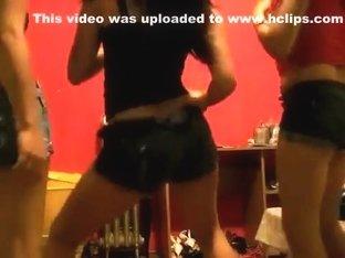 Fabulous twerking cam non-professional movie