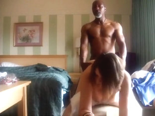 Cheating housewife gets doggystyle fucked by a bbc with face to the cam