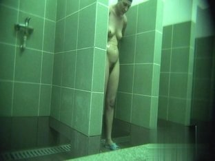 Hidden cameras in public pool showers 316