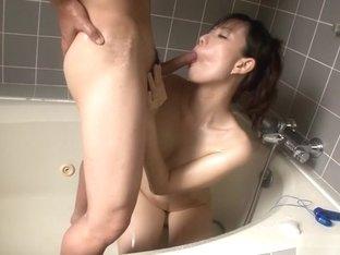 Horny Japanese girl Manami Komukai in Best JAV uncensored Lingerie scene