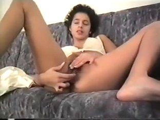 Anna from Sweden Alone w Dildos - 2 Orgasms