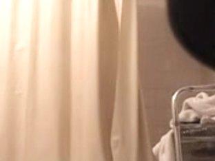 Showering homemade voyeur video