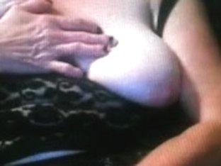 Mature bbw babe with big tits masturbates on free cam