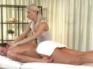 Massage Rooms Uma expertly massages 2 hard rods to an int