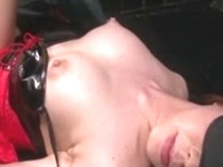 China Mimura is tied and toyed whilst blindfolded previous to hav