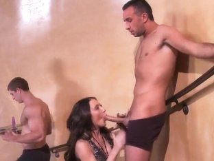 Amy Brooke favors Keiran Lee's cock anally