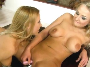 Horny blondies fucking feat. Nikky Thorne