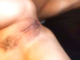 Trimmed pussy taking dick