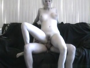 Sd - busty hannah starts the foreplay in the shower and finishes her bf 'coyne' on the sofa