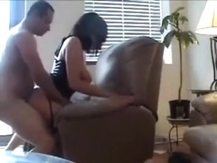 Doggystyle with busty milf