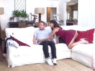 Busty Ariella Ferrera in banging her stepdaughters boyfriend