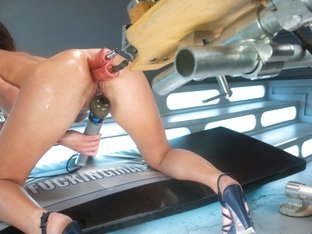 Fabulous fetish, anal adult movie with exotic pornstar from Fuckingmachines