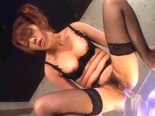 Best Japanese chick Sara Nakamura in Crazy JAV uncensored Stockings video