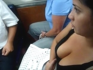 Sexy Candid Big Tits Cleavage