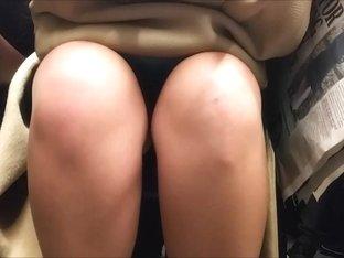 Green Skirt Upskirt