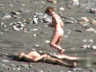 Nude Beach. Voyeur Video 175