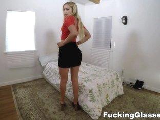 Fucking Glasses - Dakota Bleu - Harvard gal fucked for a job