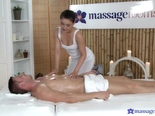 Incredible pornstars Eva Strauss, Marc Rose in Hottest Massage, Brunette porn video