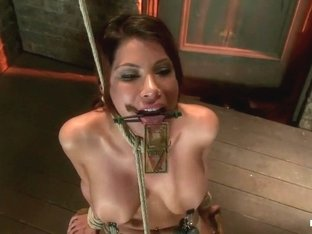 1 of Porns Hottest Bodies steps into the dark world of BDSM. Someone stepped into the wrong baseme.
