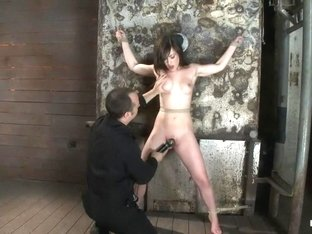 Beautiful girl next door is bound spread & helplessFingered, vibrated to orgasms after orgasms.