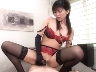 Hottest Japanese slut Kaori Amai in Fabulous Fingering, Gangbang JAV movie
