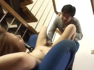 Best Japanese slut Moe Shandon in Incredible Big Tits JAV clip