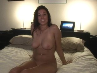Party Girl With Big Tits Into Letting Us Pull A Train On Her