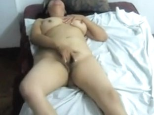 Sexually Excited solo large adorable woman darling craves to cum