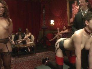Anal Threesome Discipline on the Upper Floor