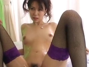Oiled Japanese Sweethearts