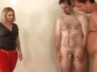 Kinky sluts in ball breaking femdom action