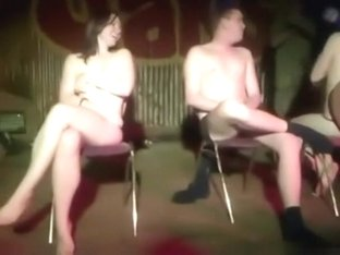Uk students naked chair game degreening initiation