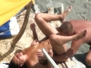 Couples have sex on a nude beach' compilation
