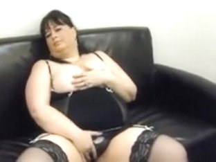 Bbw Brunette Is Proud Of Her Big Natural Tits