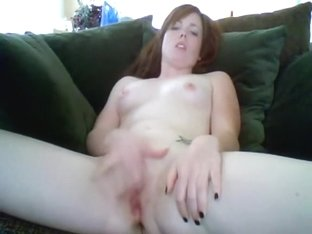 Tattooed pale web camera cutie fingering