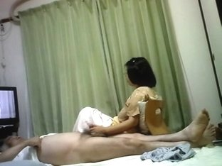 Sex life of Japanese elderly pair Having enjoyment two