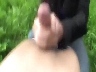 Saucy Girlfriend's Outdoor Suck and Fuck