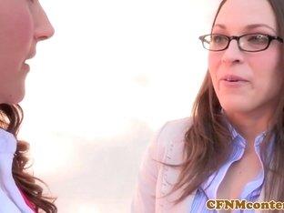 Amazing pornstars Lily Love, Samantha Ryan in Fabulous Cumshots, Femdom sex movie