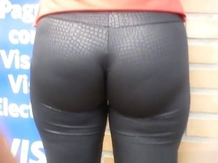 Tight pants in shop