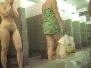 Hot Russian Shower Room Voyeur Video  60