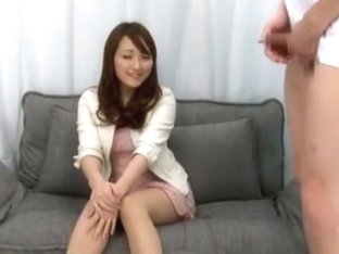 Crazy Japanese whore in Horny Casting JAV scene