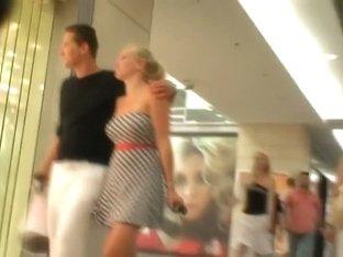 Hot voyeur video of random chicks in/near his local mall