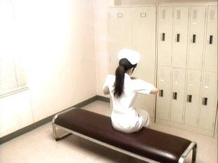 Demented patient screws a hot Asian naughty nurse hard