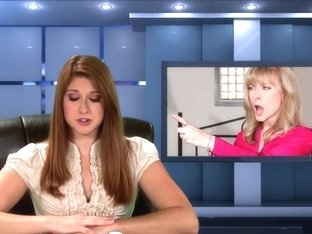 Exotic pornstars Yasmine Deleon and Nina Hartley in best masturbation, dildos/toys porn movie