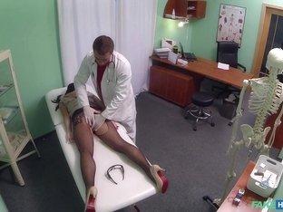 Hottest pornstar in Incredible Medical, Fingering xxx scene