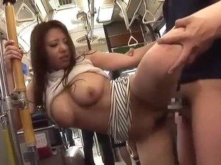 Amazing Japanese whore Chiharu Nakai, Yuka Minase, Kairi Uehara in Exotic Bus JAV movie